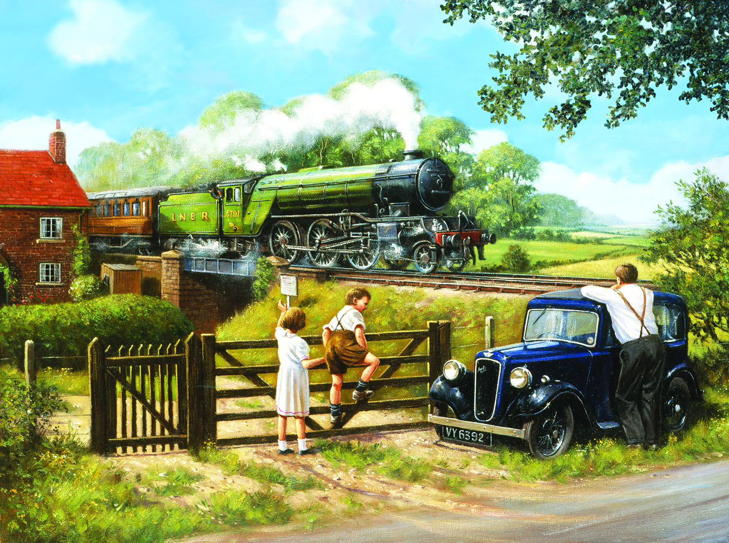Passing By 1000 pc Jigsaw Puzzle by SunsOut