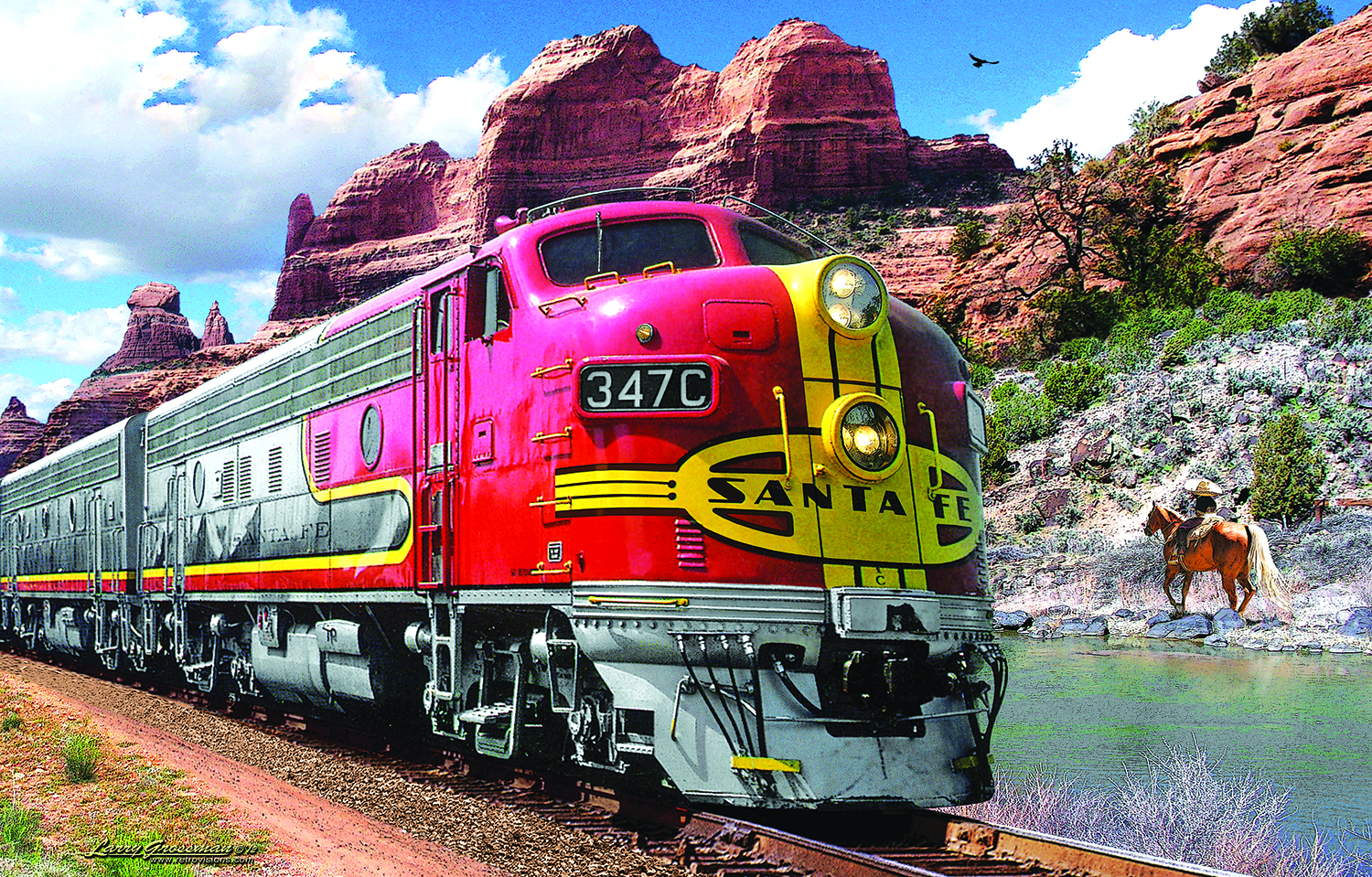 Super Chief 1000 pc Jigsaw Puzzle by SunsOut