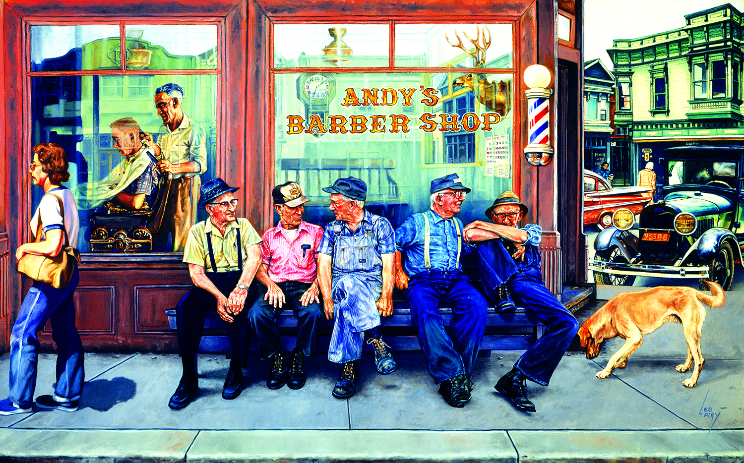 Andy's Barber Shop 300 Piece Jigsaw Puzzle by SunsOut