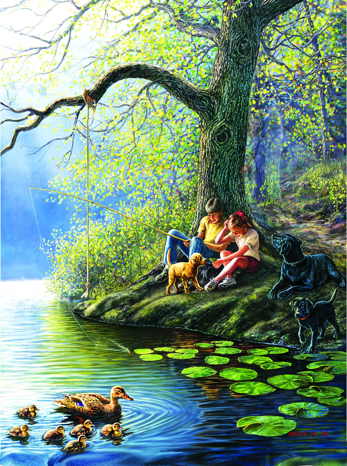 Places Remembered Spring 1000 pc Jigsaw Puzzle by SunsOut