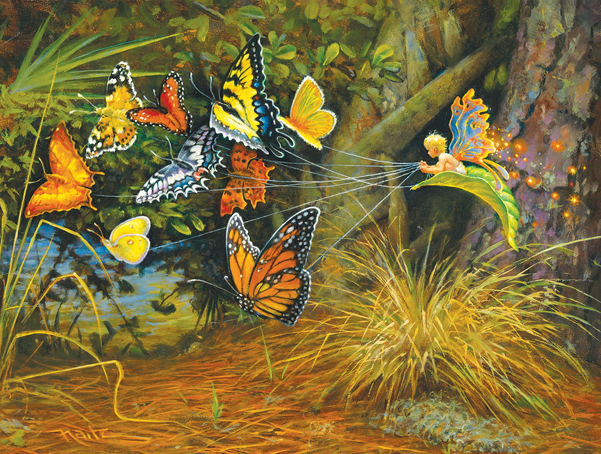 Flight of the Pixie 1000 pc Jigsaw Puzzle by SunsOut