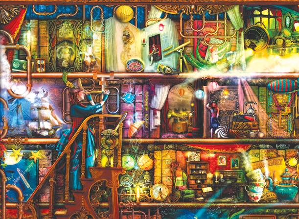 Fantastic Voyage 1500 pc Jigsaw Puzzle by SunsOut