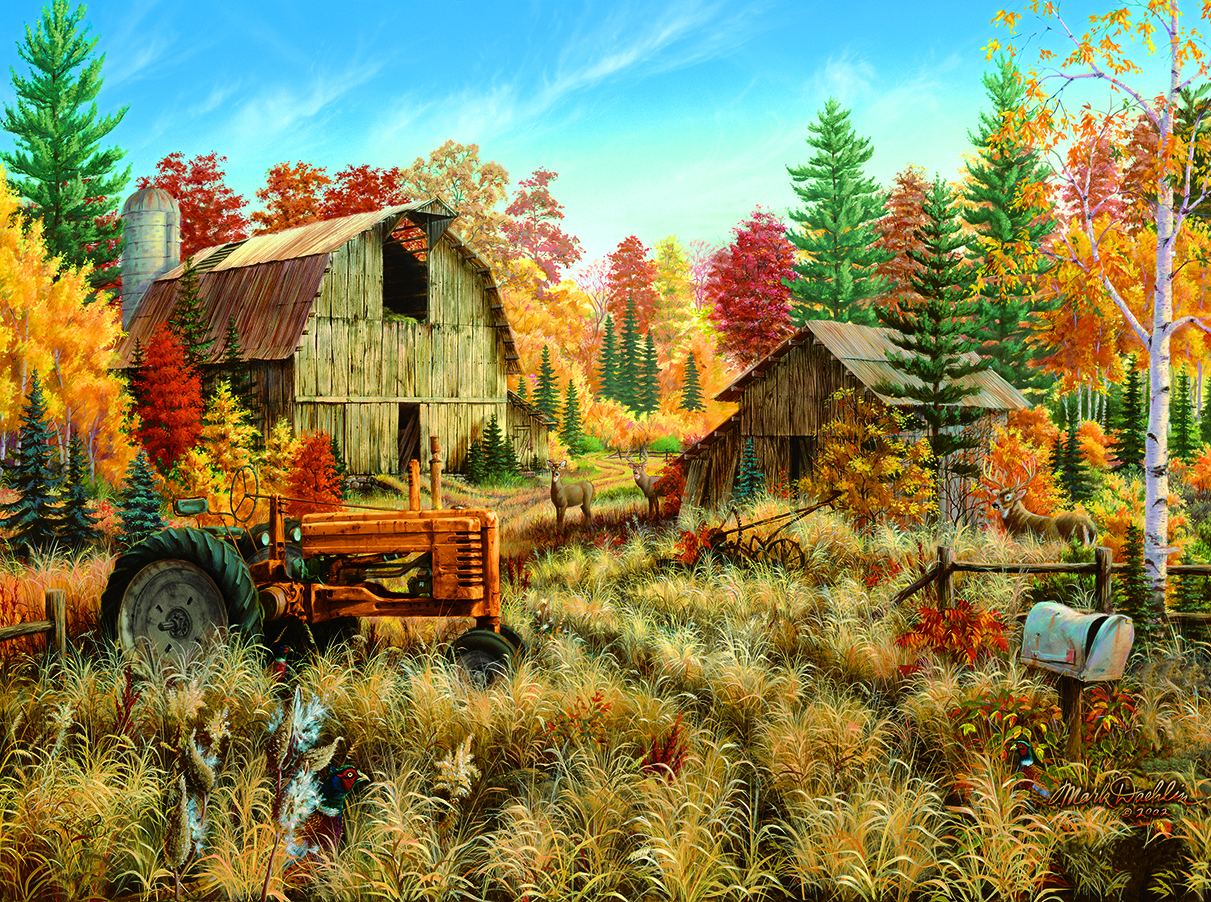 Deer Valley 1000 pc Jigsaw Puzzle by SunsOut