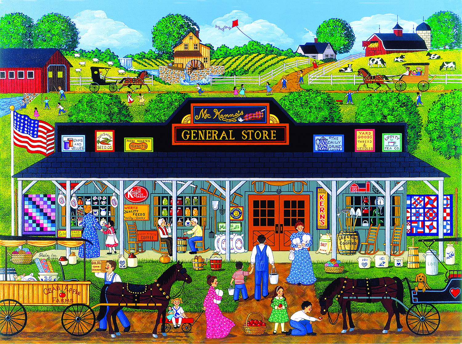 McKenna's General Store 1000 pc Jigsaw Puzzle by SunsOut