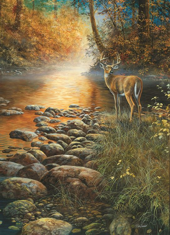Forest Haven 500+ pc Jigsaw Puzzle by SunsOut