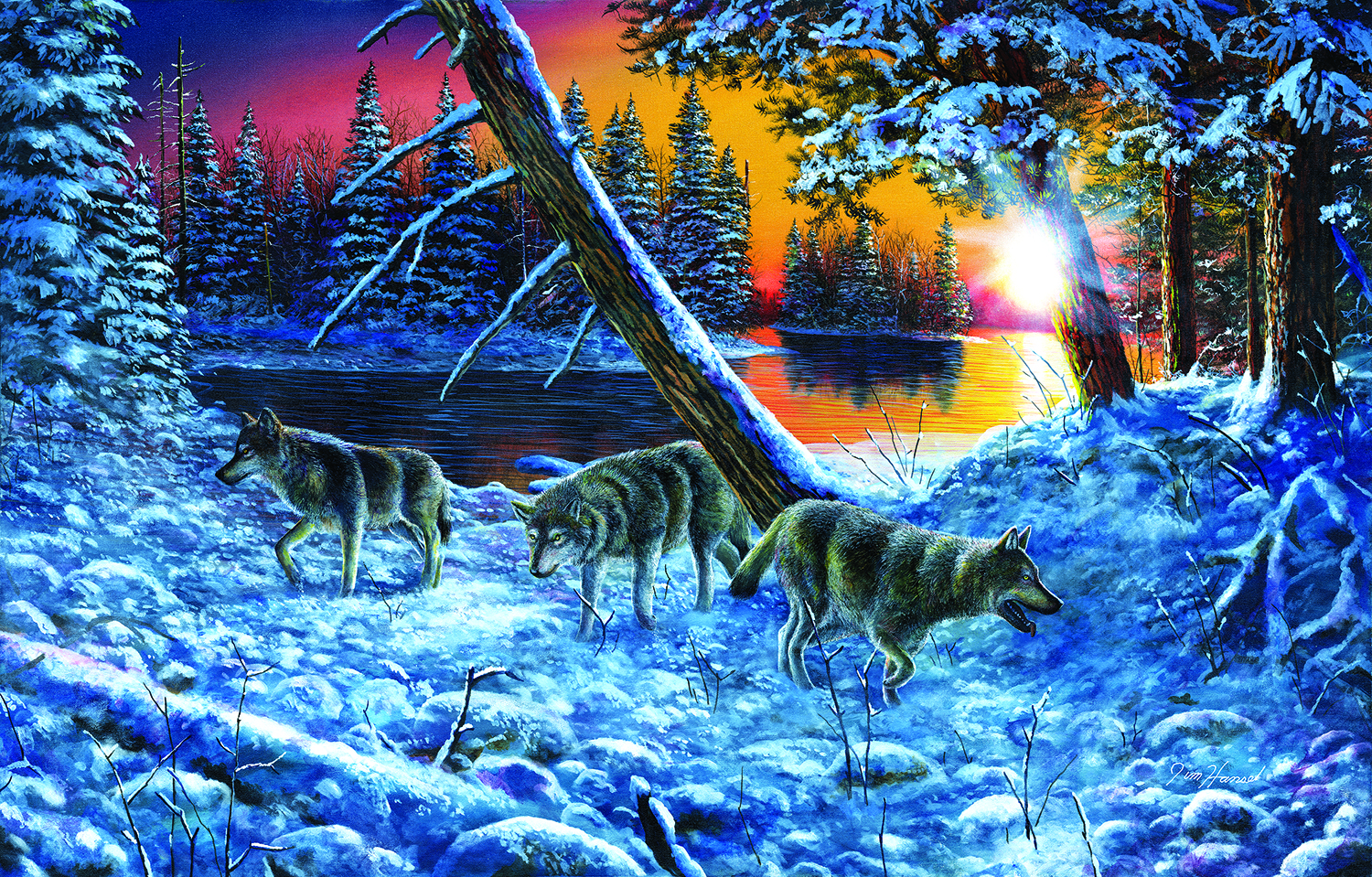 On the Prowl 1000 pc Jigsaw Puzzle by SunsOut