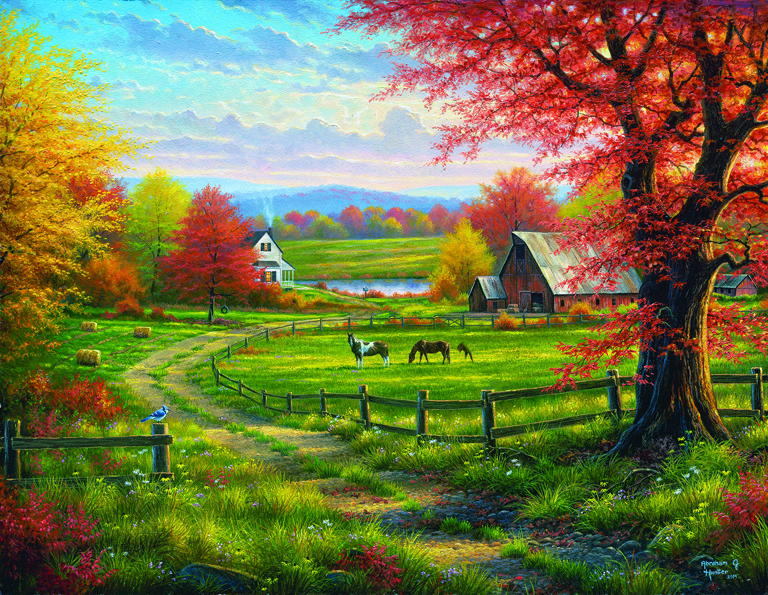 Peace and Tranquility 1000+ pc Jigsaw Puzzle by SunsOut