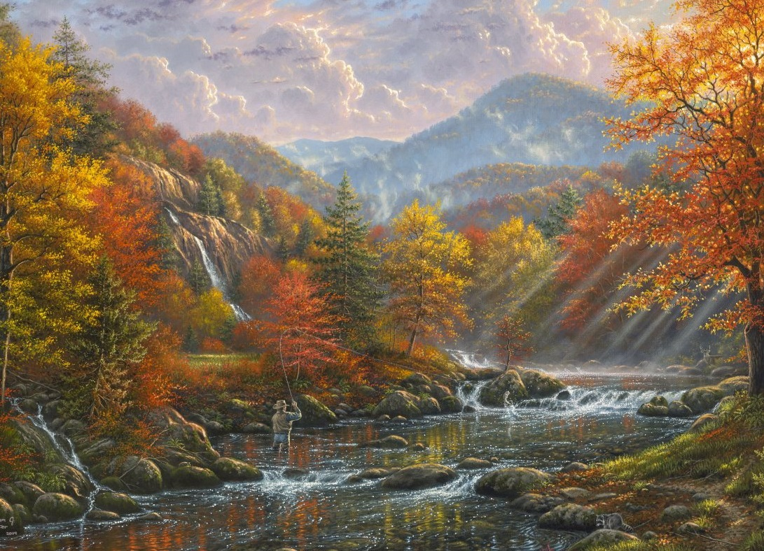 Paradise Valley 1000 pc Jigsaw Puzzle by SunsOut
