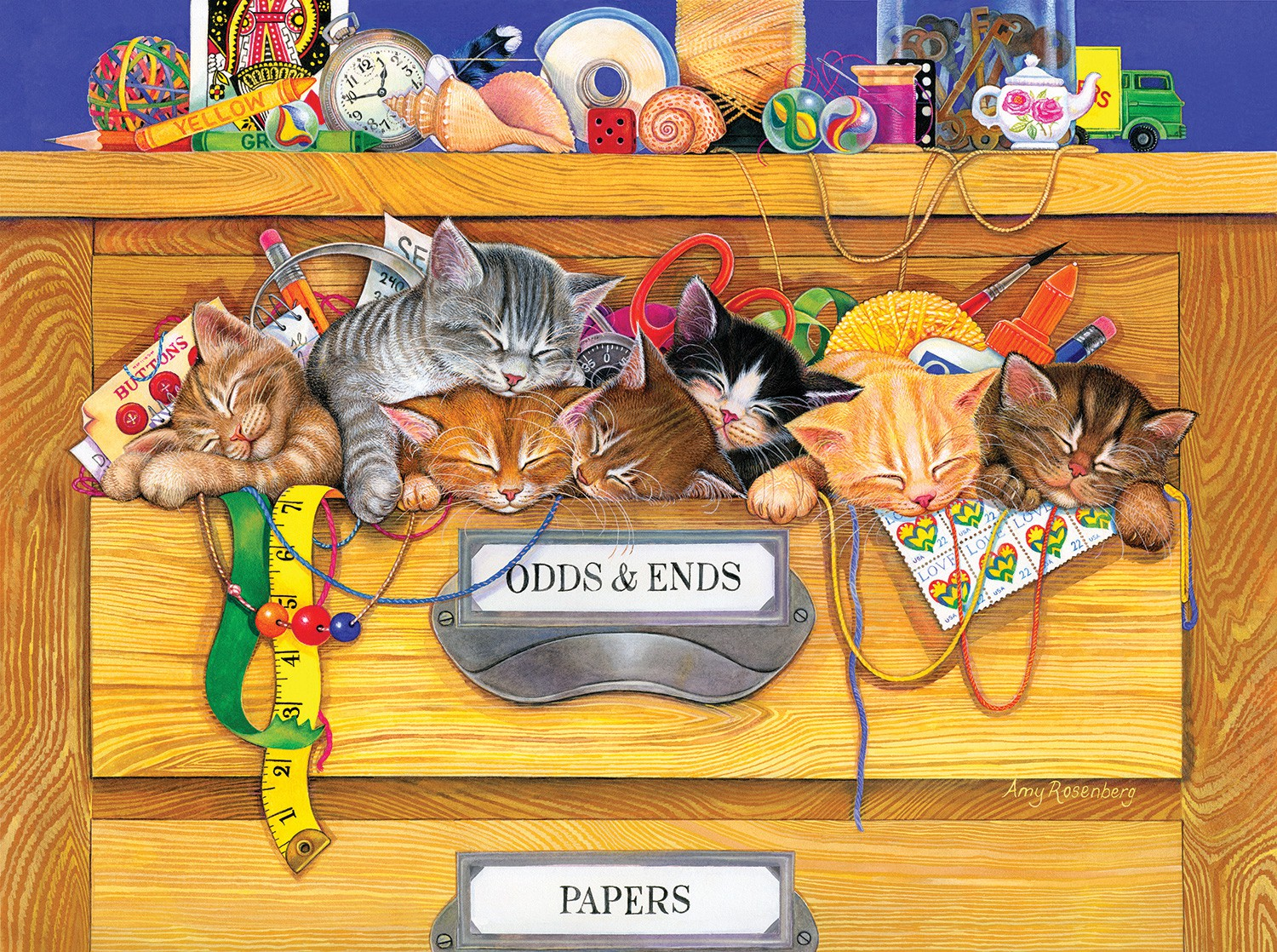 Odds n'  Ends 1000 pc Jigsaw Puzzle by SunsOut