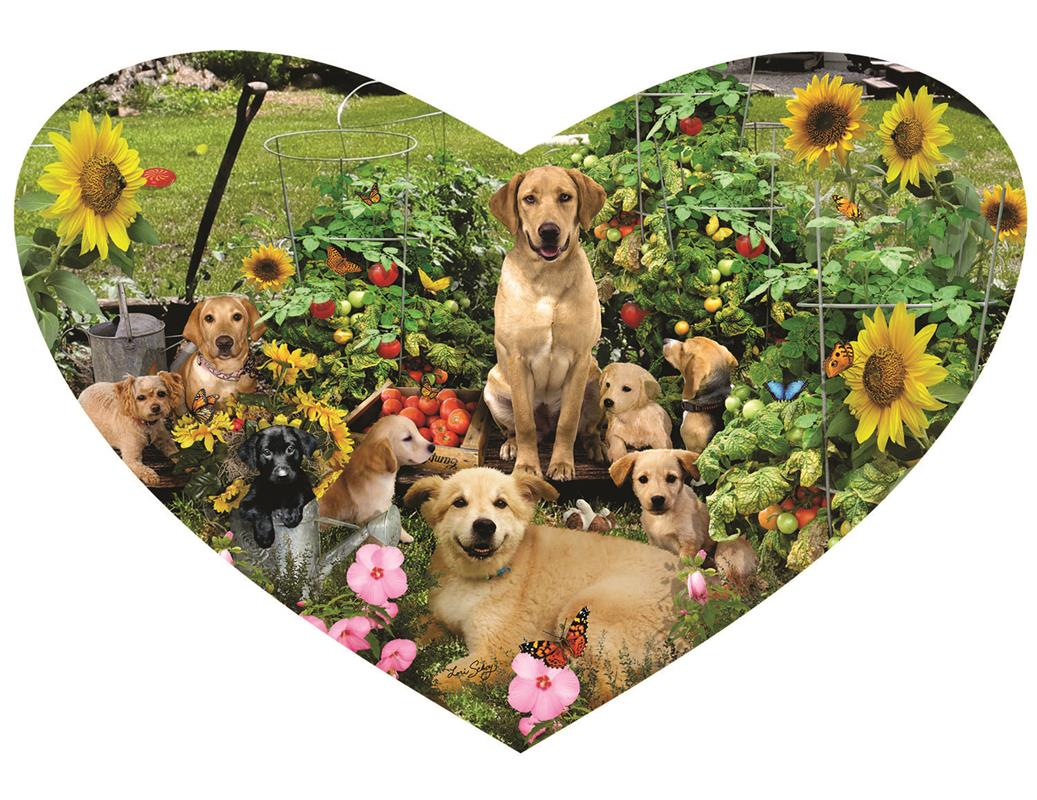 Puppy Heart 200 pc Jigsaw Puzzle by SunsOut