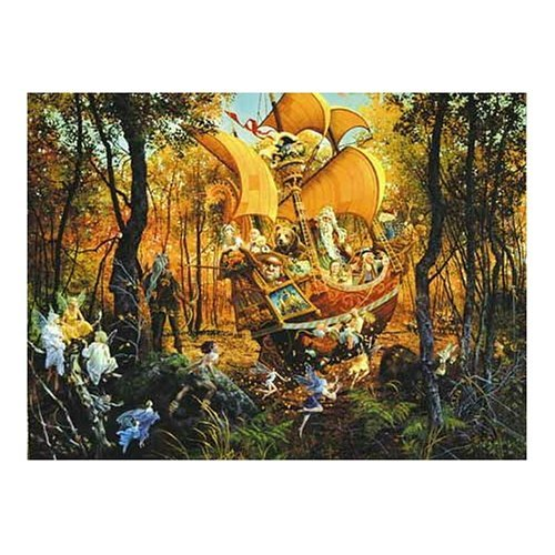 Flight of the Fablemaker 1500 pc Jigsaw Puzzle