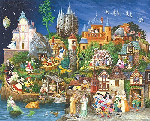Fairy Tales 1500 pc Jigsaw Puzzle