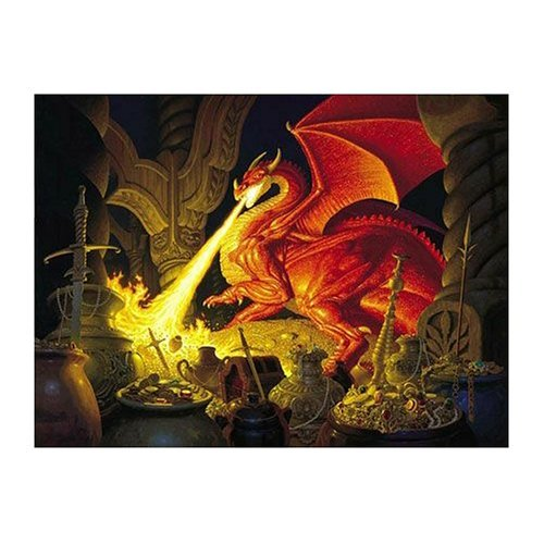 Smaug Dragon  1000 pc Jigsaw Puzzle