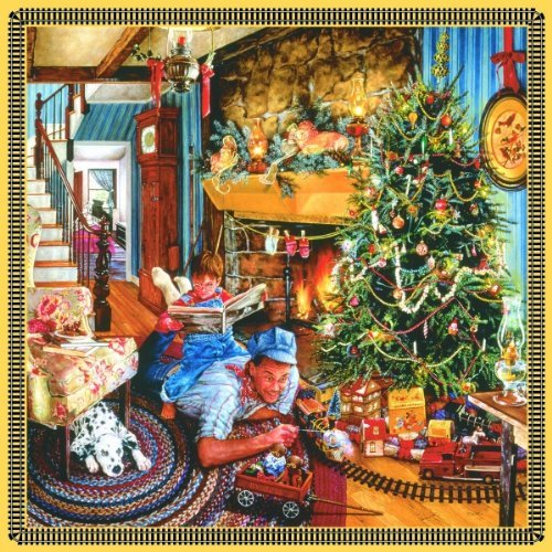 Father's Christmas Train 500 pc Jigsaw Puzzle