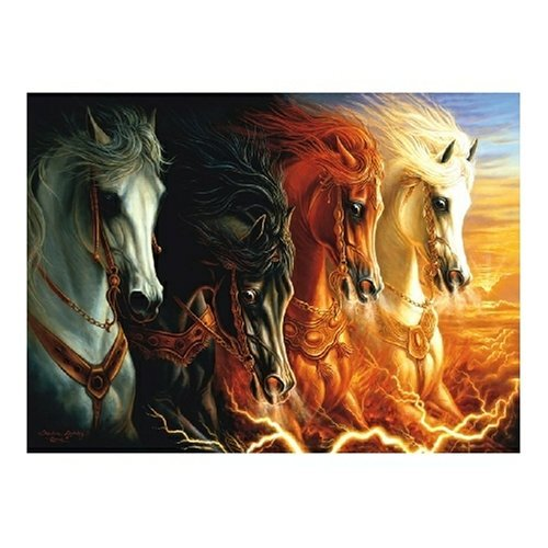 Four Horses of the Apocalypse 1500 pc Jigsaw Puzzle
