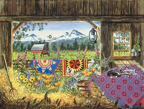 Hole in the Barn Door  500 pc Jigsaw Puzzle