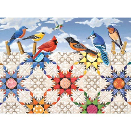 Feathered Stars 500 pc Jigsaw Puzzle