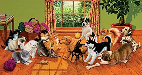 Tug of War 500 pc Jigsaw Puzzle