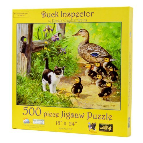 Duck Inspector  500 pc Jigsaw Puzzle