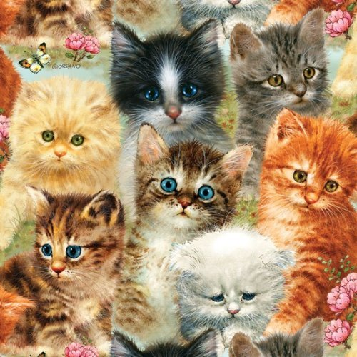 A Pile of Kittens 1000 pc Jigsaw Puzzle
