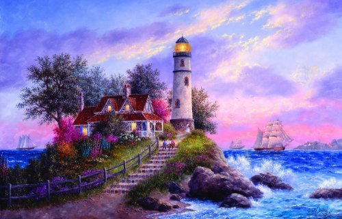 Captain's Cove 1000 pc Jigsaw Puzzle