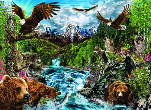 River of Life 1500 pc Jigsaw Puzzle