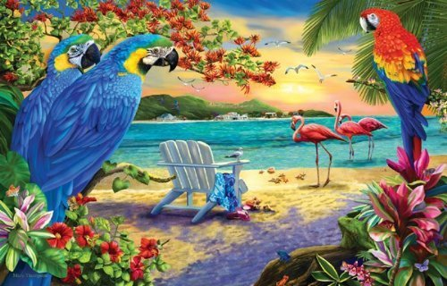 Secluded Beach  1000 pc Jigsaw Puzzle