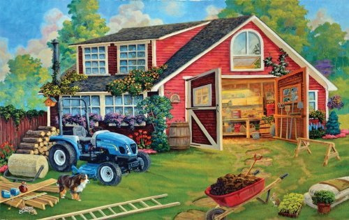 The Tool Shed 550 pc Jigsaw Puzzle