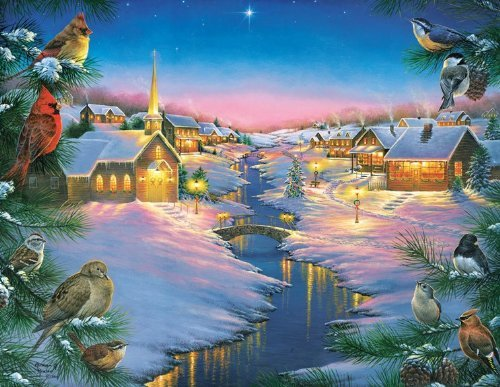 A Winter's Silent NIght Jigsaw Puzzle