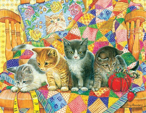Rocking Kittens Jigsaw Puzzle