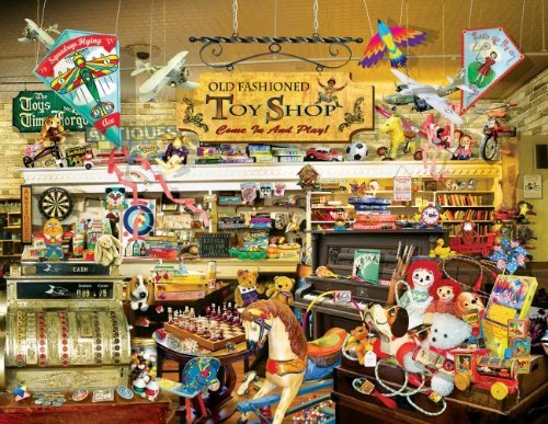An Old Fashioned Toy Shop 1000 pc Jigsaw Puzzle