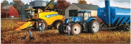New Holland Harvest of Gold 500 Piece Puzzle