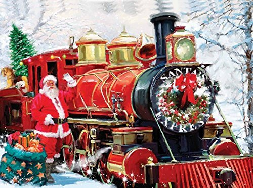 Christmas Express 1000 pc Jigsaw Puzzle