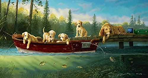Fishing Lessons 500 pc Jigsaw Puzzle