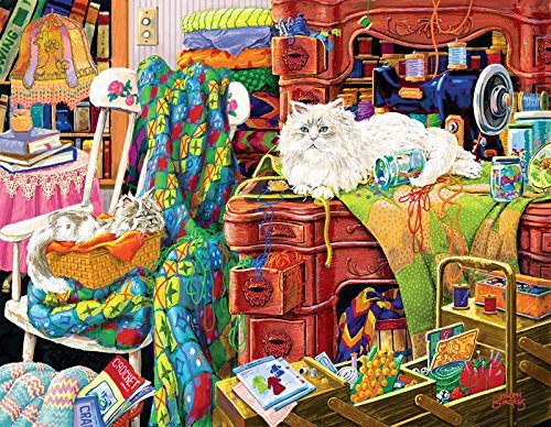 Quilter's Helpers  pc Jigsaw Puzzle