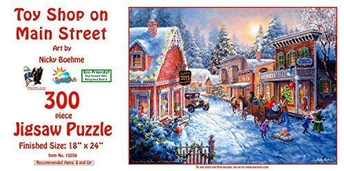 Toy Shop on Main Street 300 pc Jigsaw Puzzle