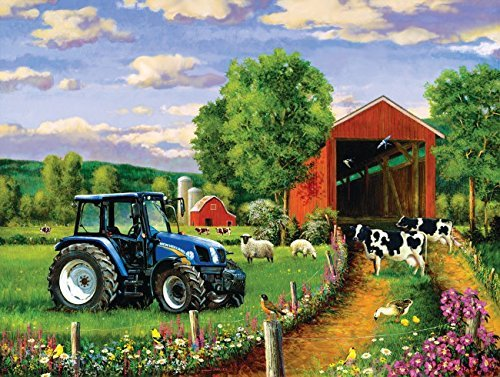Country Lane 500 pc Jigsaw Puzzle