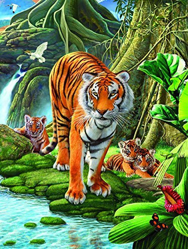 Tiger Two 500 pc Jigsaw Puzzle