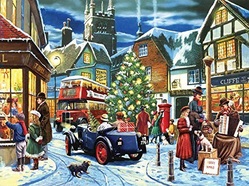 Christmas Streets 1000 pc Jigsaw Puzzle