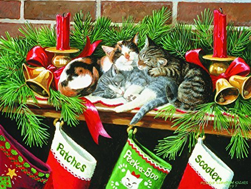 Waiting for Santa 500 pc Jigsaw Puzzle