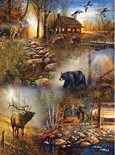 Forest Collage 1000 pc Jigsaw Puzzle