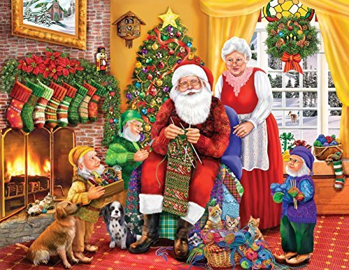 One Last Stocking 1000 pc Jigsaw Puzzle