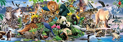 Around the World 500 pc Jigsaw Puzzle