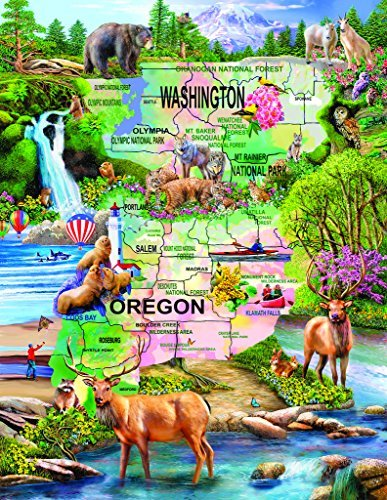 Pacific Northwest Adventure 1000+ pc Jigsaw Puzzle by SunsOut