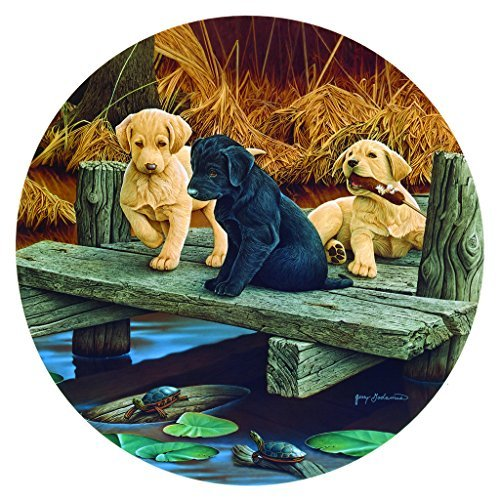 Puppies and Friends 100 pc Jigsaw Puzzle by SunsOut