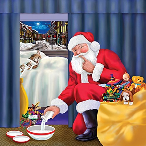 Chessie's Christmas 500 pc Jigsaw Puzzle by SunsOut