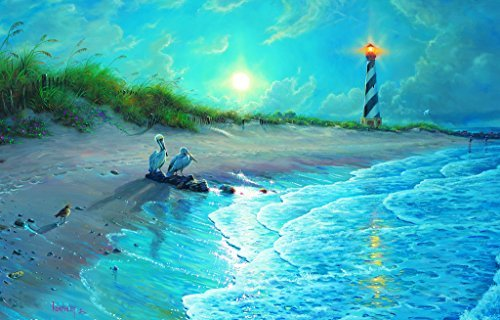 Moonlit Cove 1000 pc Jigsaw Puzzle by SunsOut