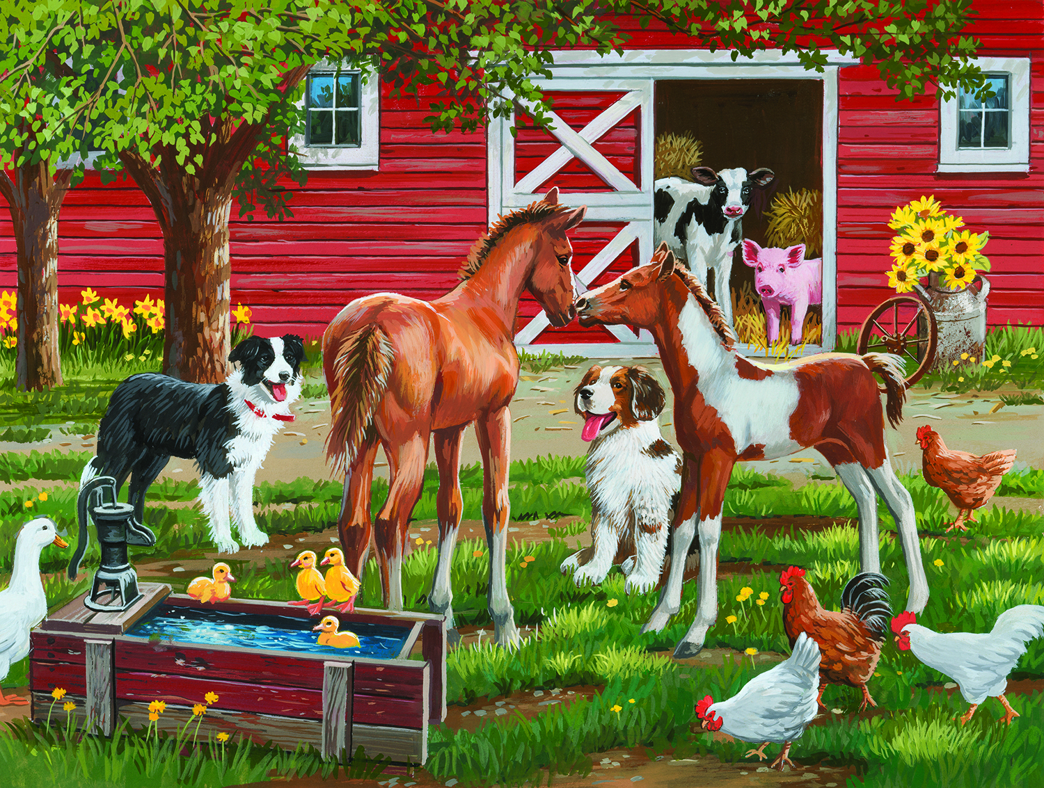 Welcome the new pony 300 Piece Jigsaw by SunsOut