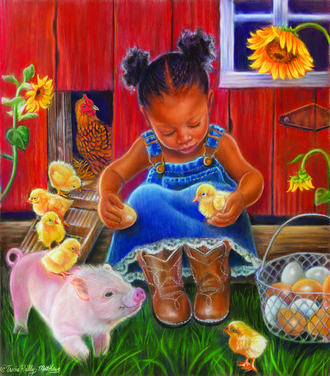 Barn Babies 300 Piece Jigsaw by SunsOut