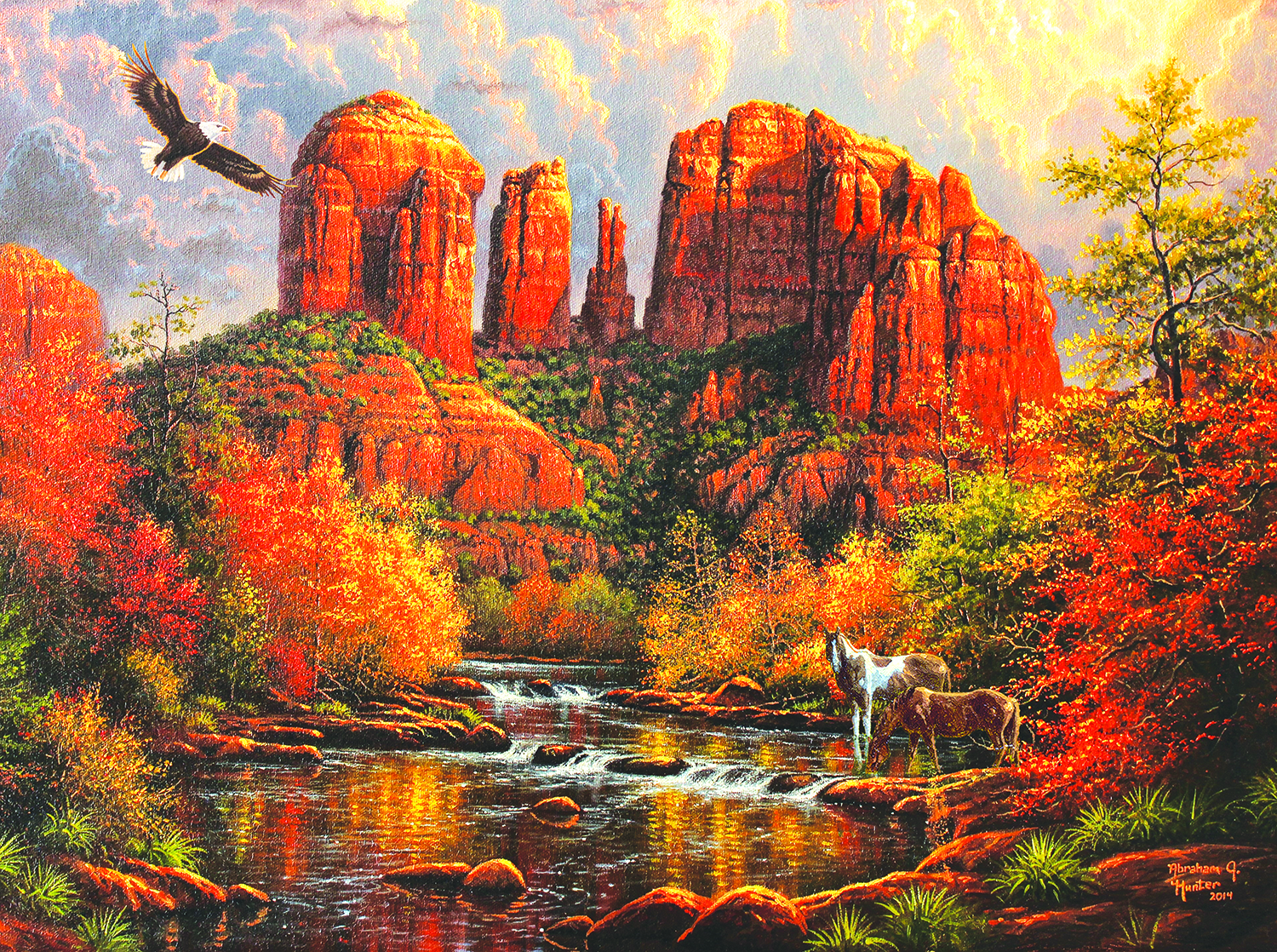 Sedona Majesty 1000 Pc Jigsaw Puzzle by SunsOut Inc.